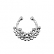 Fake Septum Ring Double Dots