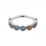 Conch Clicker - Swarovski Rainbow Gems