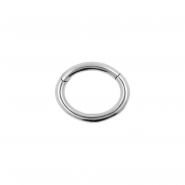 Rook Piercing Oval Click Ring