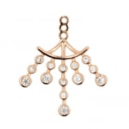 Earring Jacket -  Chandelier