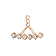 Earring Jacket - Diamonds