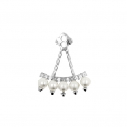Earring Jacket - Pearls