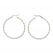 Duotone Rope Earrings