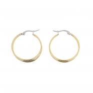 Duotone Rings Earrings