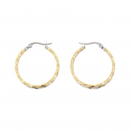 Duotone Twisted Earrings