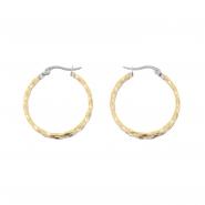Duotone Twisted Earrings