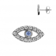 Earstuds Jewelled Eye