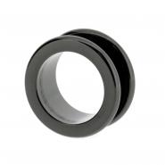 Black steel tunnel (round edged)