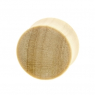 Crocodile Wood Plug - Concave