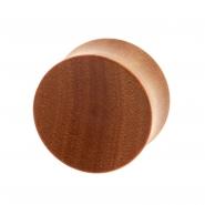 Sawo Wood Plug - Concave