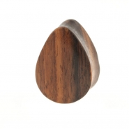 Sono Wood Teardrop Plug - Domed