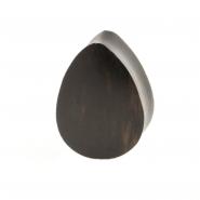 Areng Wood Teardrop Plug - Domed