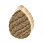 Sungkai Wood Teardrop Plug - Flat