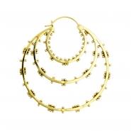 Brass Hoops - Inner Circle