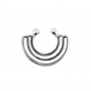 Fake Septum Ring - Parallel Lines