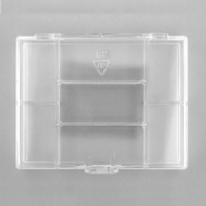 7-compartment Transparent Storage Box