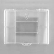 7-compartment Transparent Storage Box