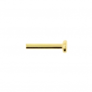 Gold Mini Labret Stud