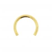 Gold Circular Post
