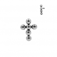 Titanium Cross Cluster