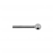 Titanium Barbell 2,5mm Ball - Threadless