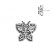 Zirconia Butterfly - Threadless