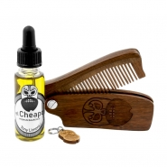 Beard Care Kit Oil & Comb - Toni Limoni