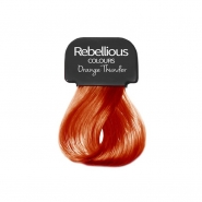 Paintglow Hair Dye Streaks - Orange Thunder
