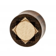 Square Inlay Plugs - Sono Wood