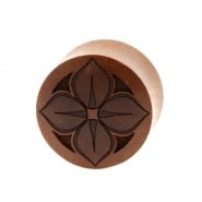 Lotus Plugs - Sawo Wood