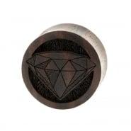 Diamond Plugs  - Sono Wood