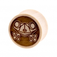 Crocodile Geometric Animal Plug - Frog
