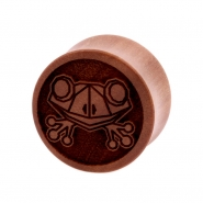 Sawo Geometric Animal Plug - Frog