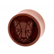 Sawo Geometric Animal Plug - Leopard
