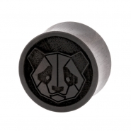 Areng Geometric Animal Plugs - Panda