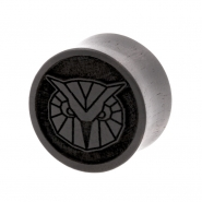Areng Geometric Animal Plugs - Owl