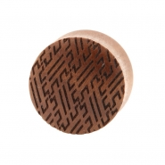 Sawo Japanese Pattern Plugs - Manji