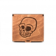 Wooden Jewelry Box - Skull