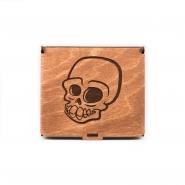 Wooden Jewelry Box - Skull