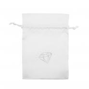 Satin Pouch - Diamond