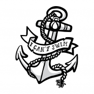 Sticker - I Can't Swim