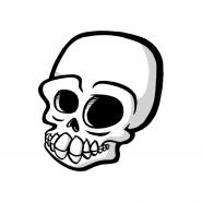 Sticker - Skull