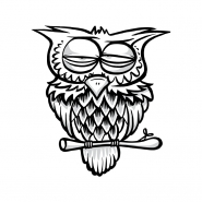 Sticker - Owl