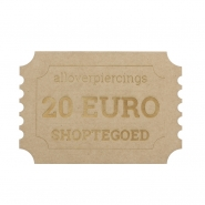 20 Euro Store credit